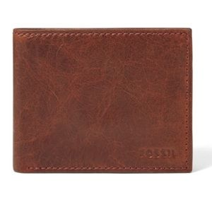 Fossil Ingram Bifold Leather Wallet